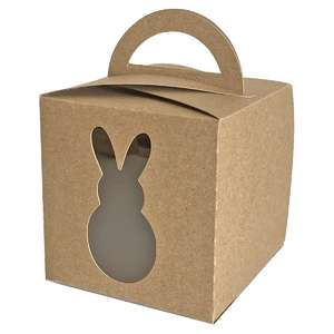 fold over bunny window box with handle
