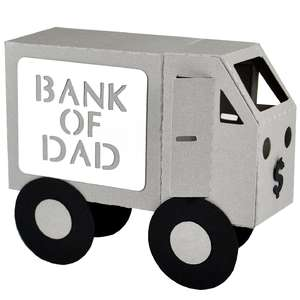3d bank of dad armoured truck