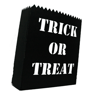 trick or treat luminaria bag