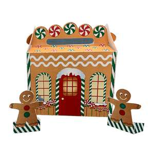 gingerbread gable box house