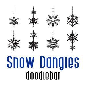 snow dangles doodlebat