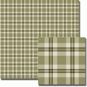 caramel plaid pattern