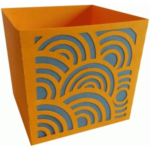 circles candy box