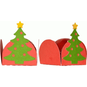 treat holder christmas tree