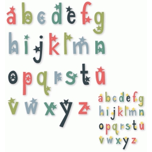 superstar alphabet set - lowercase