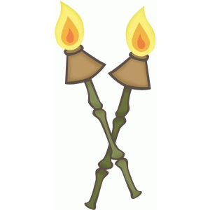 tiki torch set