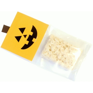 pumpkin treat bag topper