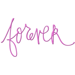 forever handwritten word