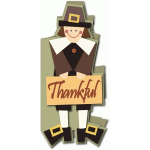pilgrim man tall card