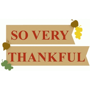 so very thankful banner