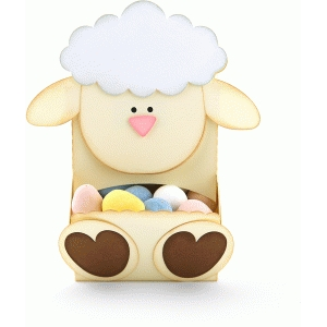lamb candy dispenser
