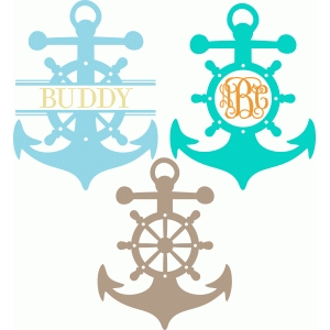 ship's wheel anchor pack