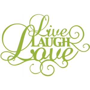 'live laugh love' phrase