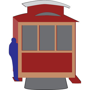 cable car - san francisco icon
