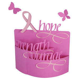 breast cancer awareness bendi card
