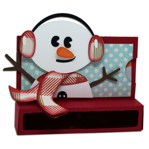 snowman candy & gift box holder