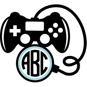 video game control monogram