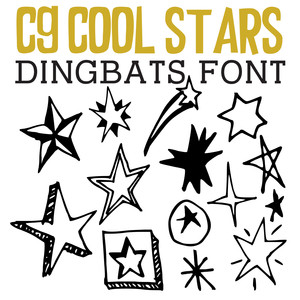 cg cool stars dingbats