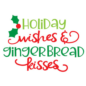 gingerbread spread - kisses
