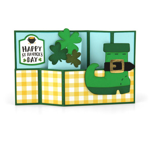 wiper card st. patrick's boot