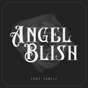 angel blish font family