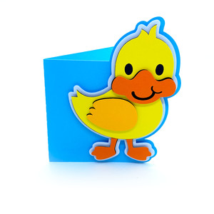 baby duck card