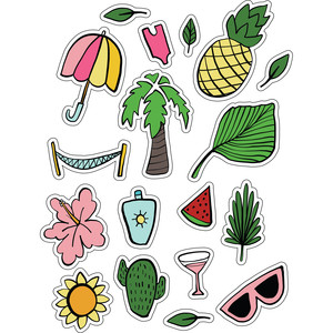 ml tropical stickers