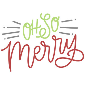 oh so merry