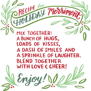 recipe for holiday merriment