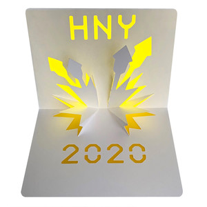 hny 2020 fireworks popup card
