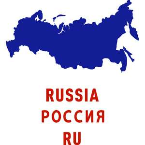 russia country outline