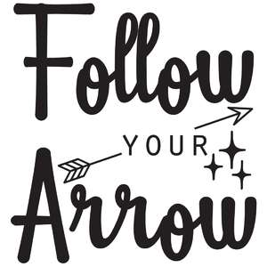 follow your arrow quote