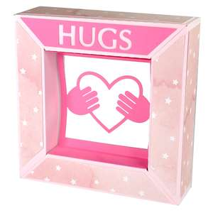hugs heart framed