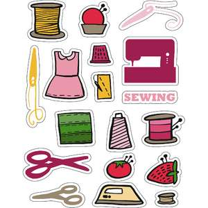 ml sewing is fun stickers