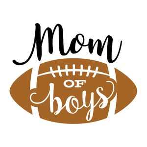mom of boys with football