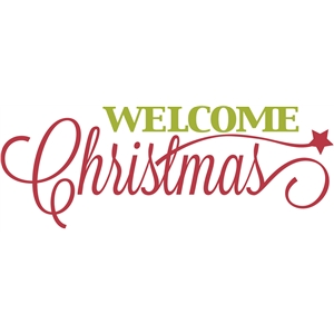 welcome christmas - vinyl