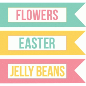 echo park easter labels