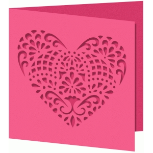 card samantha walker lace heart