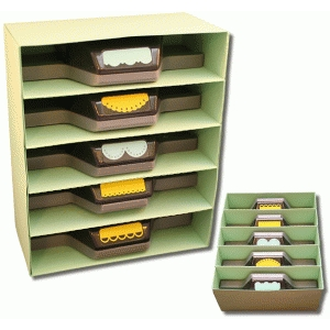 3d punch storage unit