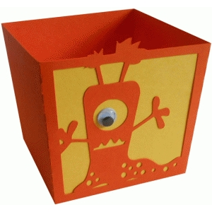 sluggish monster candy box