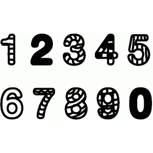 set of zendoodle numbers