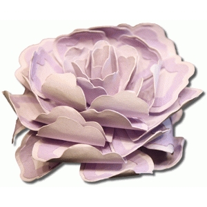 3d layered sheer magic tea rose