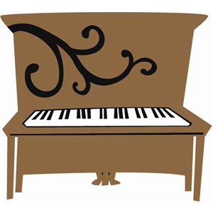 piano, upright