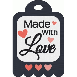 made with love tag