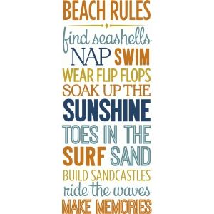 beach rules list