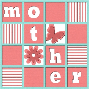 mother page layout