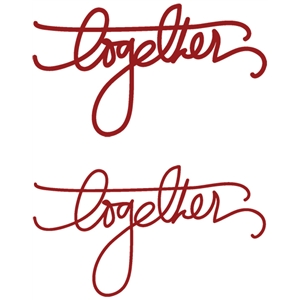 handwrittings: together
