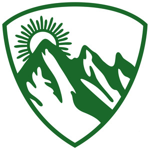 mountain hiking badge