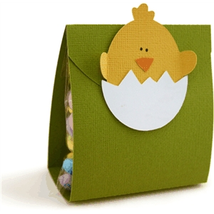 chick in egg treat bag