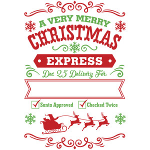 santa sack a very merry christmas express